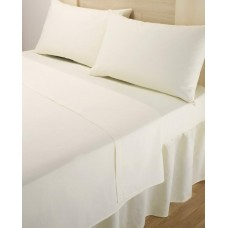 Percale Flat Sheet King